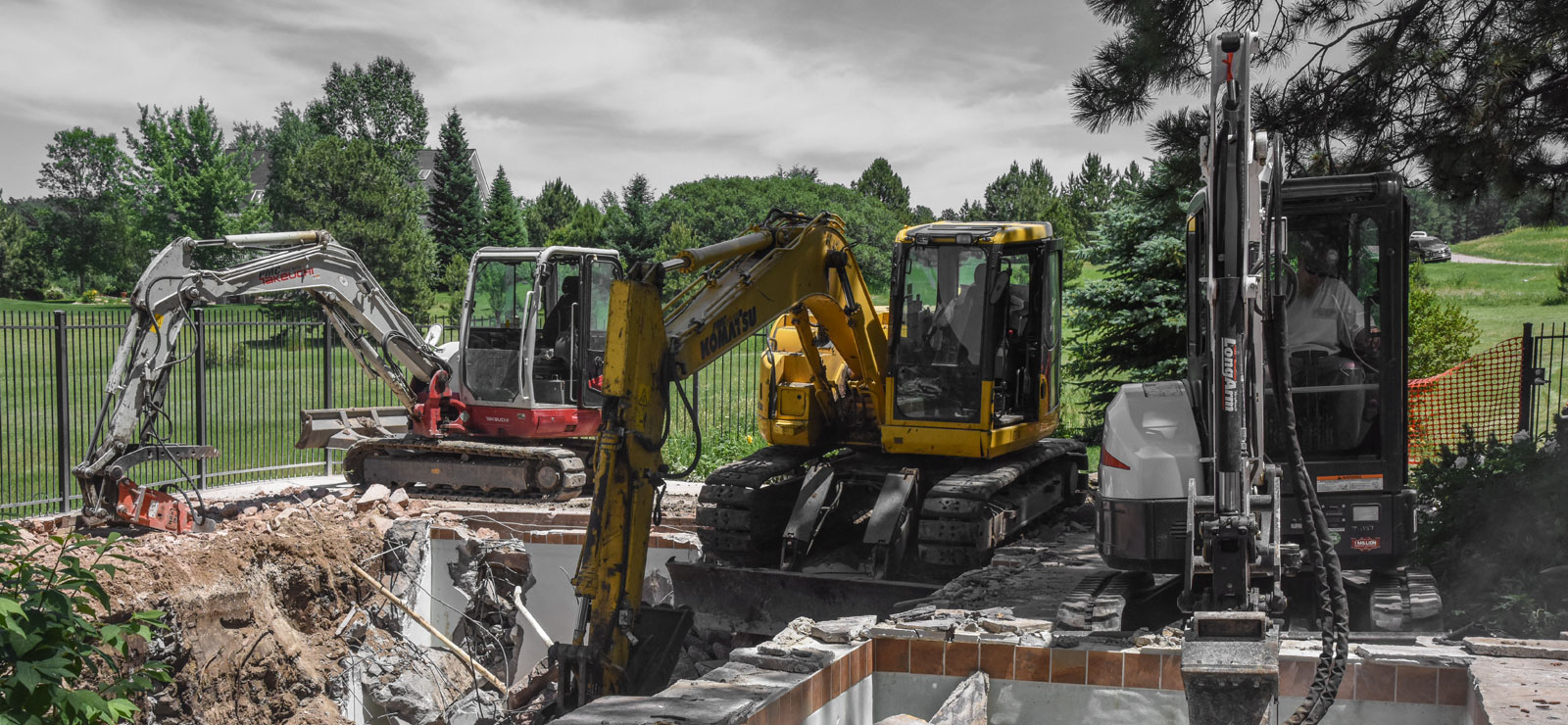 Mack Land Landscape Architects Wauconda Denver Excavator Service