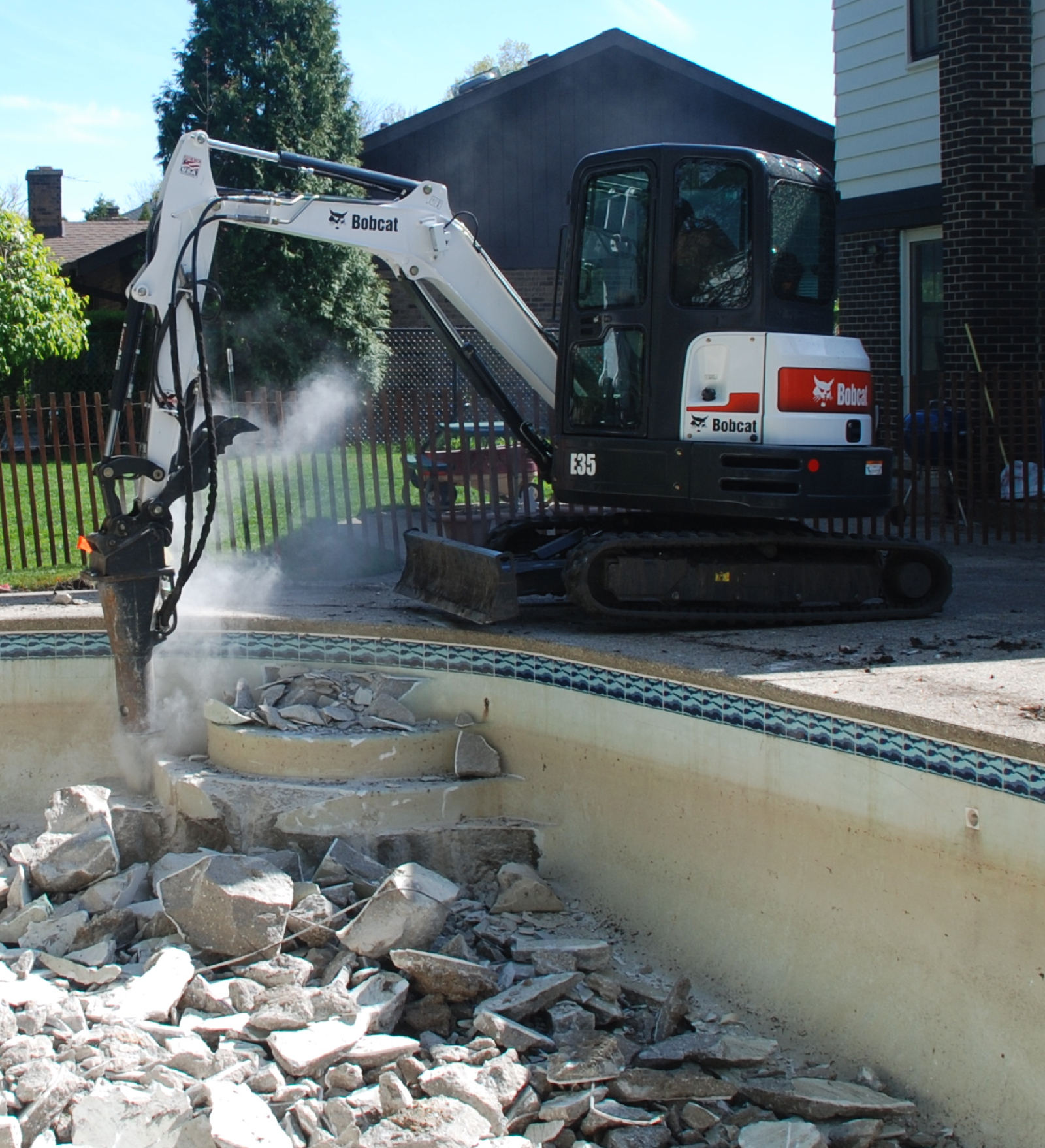 Mack Land Landscape Architects Wauconda Denver Swimming Pool Removals
