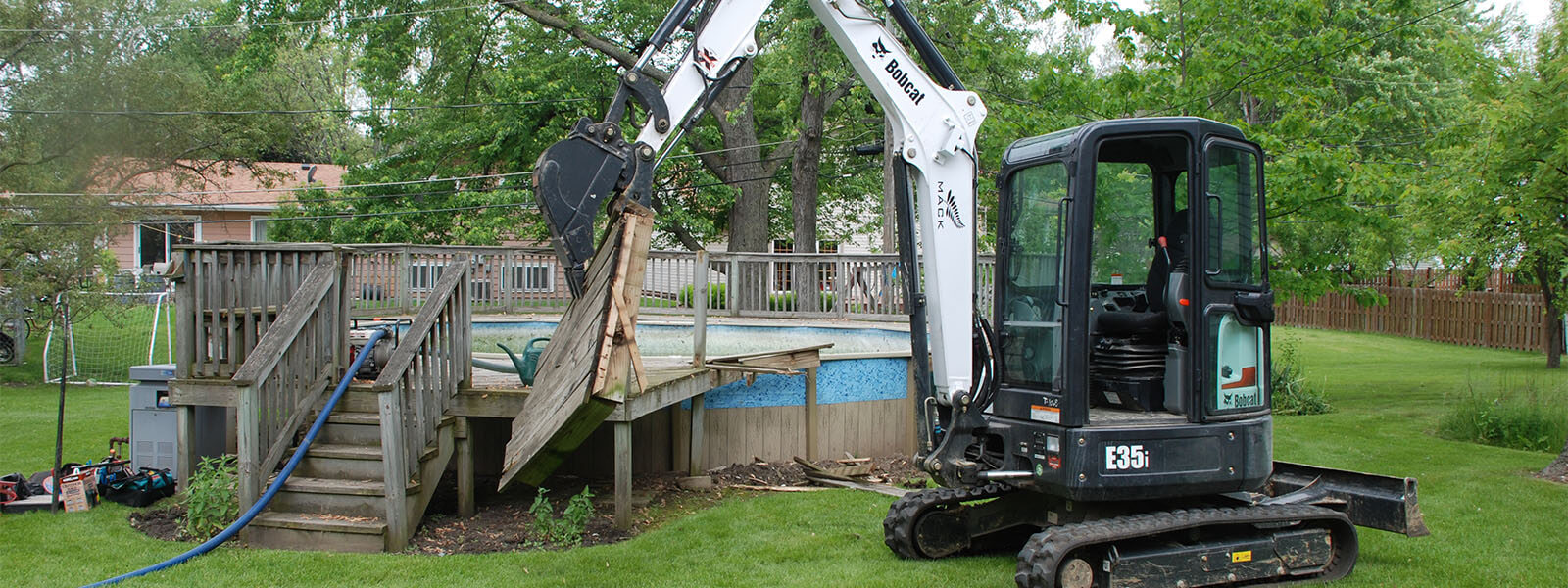 Mack Land Landscape Architects Wauconda Denver Pools Removals
