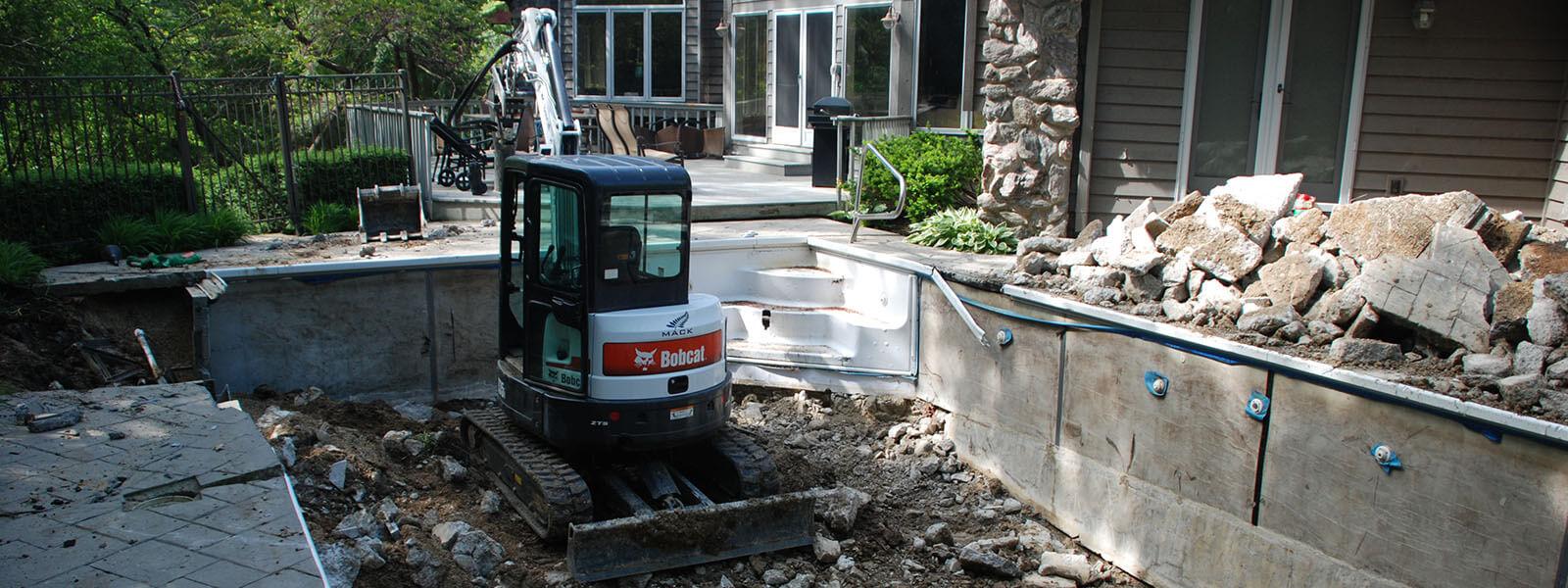 Mack Land Landscape Architects Wauconda Denver Pools Removals
