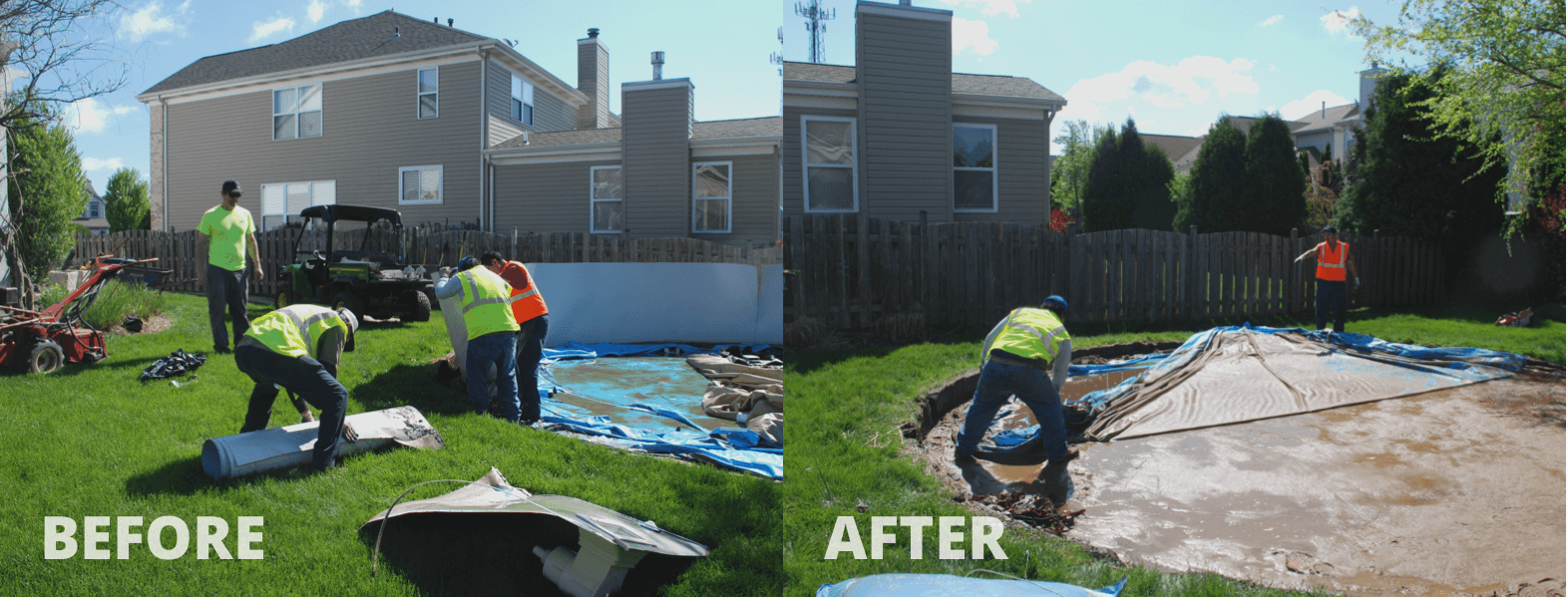 Mack Land LLC - ALGONQUIN, IL – Pool removal