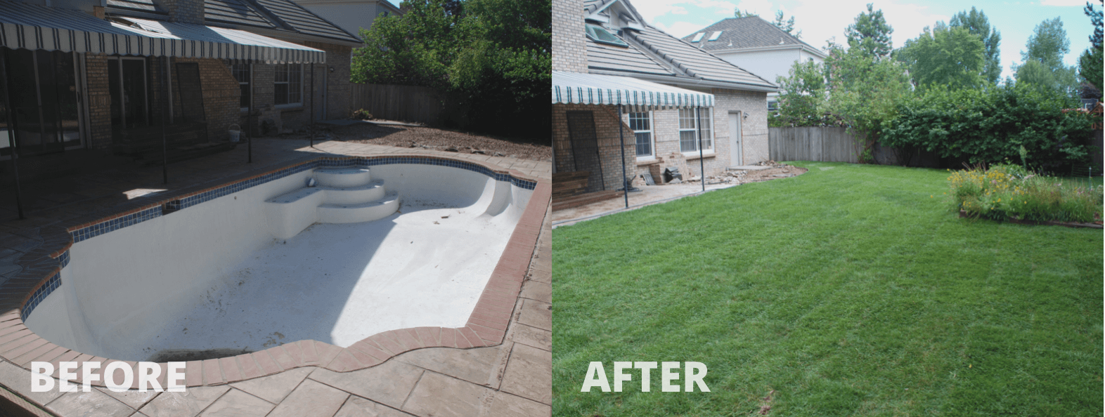 Mack Land LLC - Littleton, CO – Concrete Pool removal