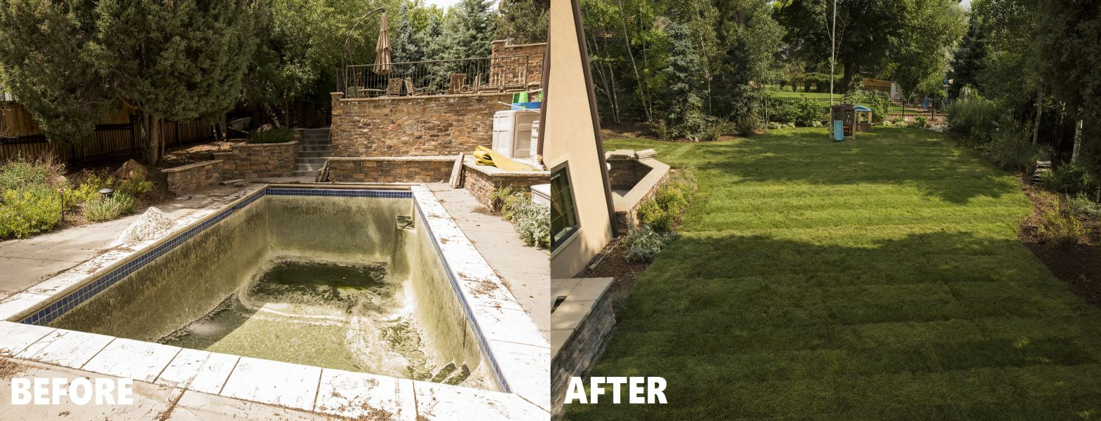Mack Land LLC - Greenwood Village, CO – Pool Removal