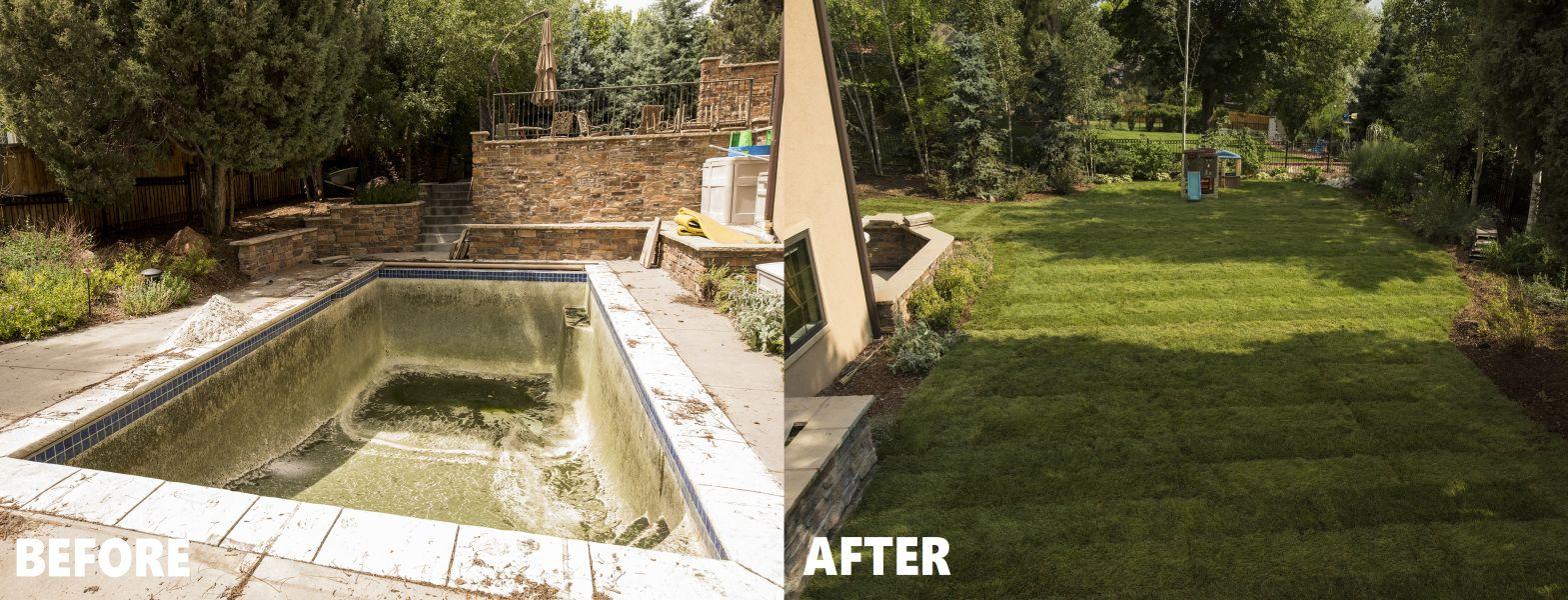 Mack Land LLC - Greenwood Village, CO – Pool Removal