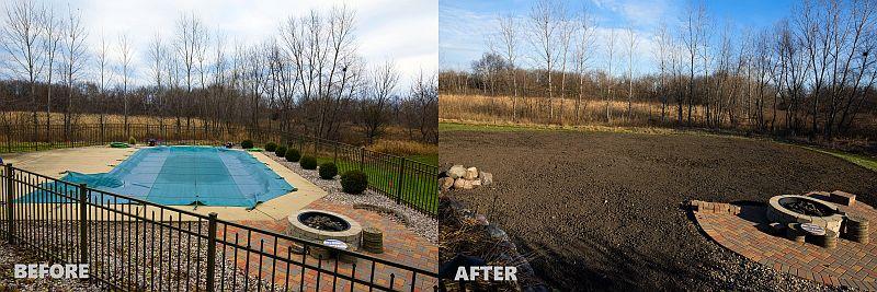 Mack Land LLC - Chicago pool removal