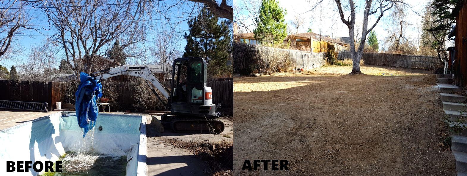 Mack Land LLC - Wheat Ridge Pool Removal