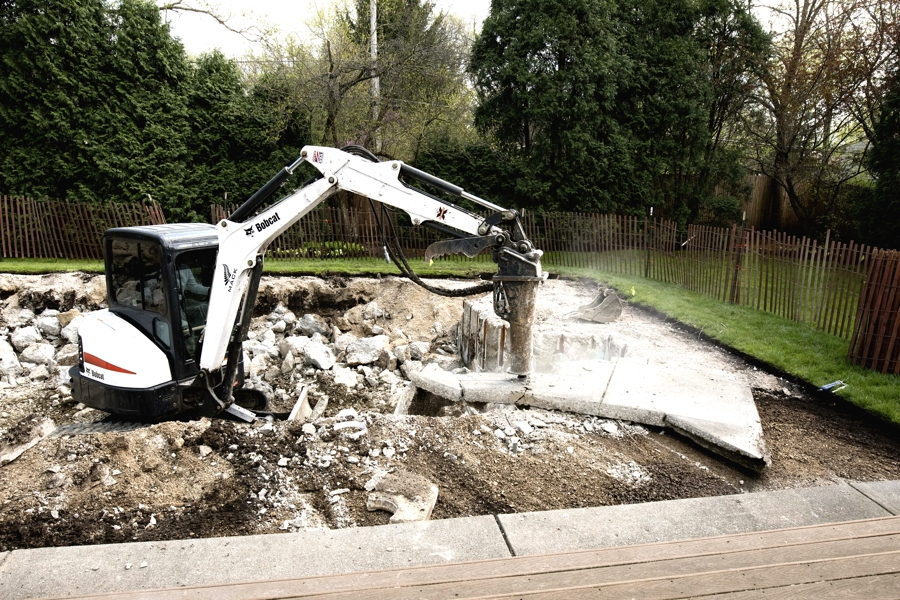 Mack Land LLC - Deerfield, Illinois Pool Removal