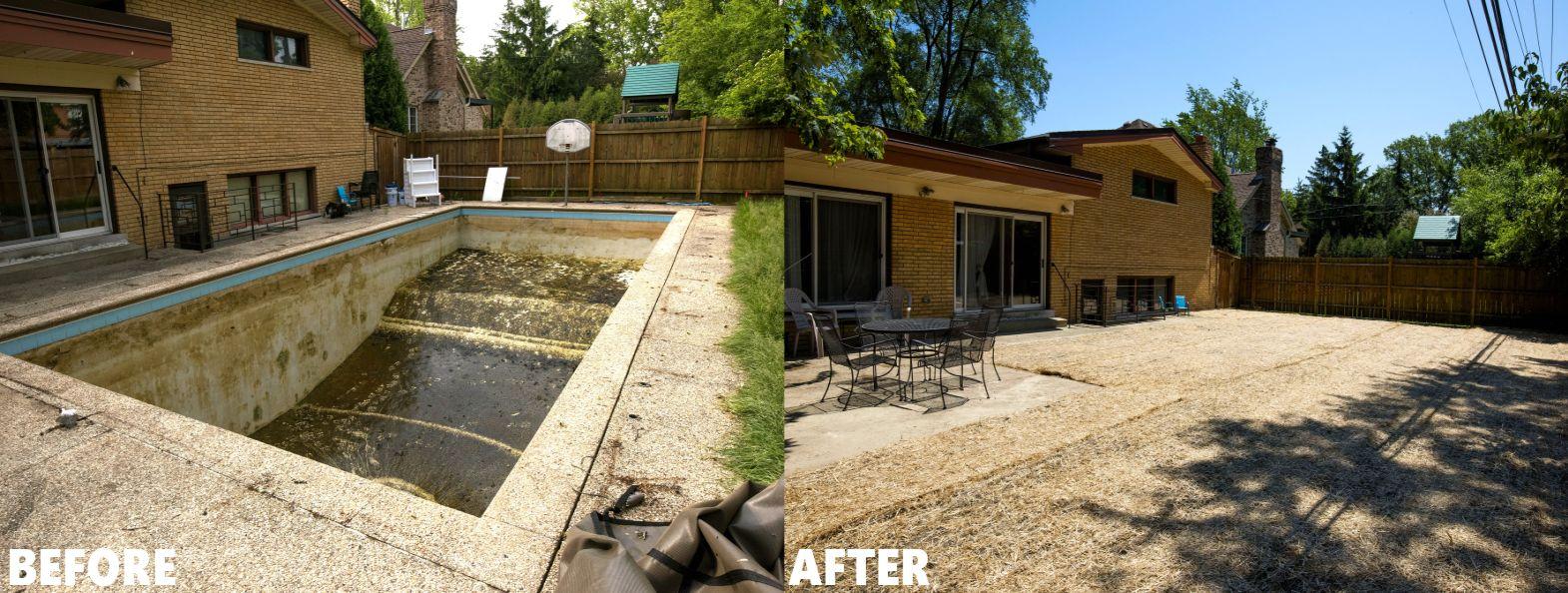 Mack Land LLC - Skokie Pool Removal