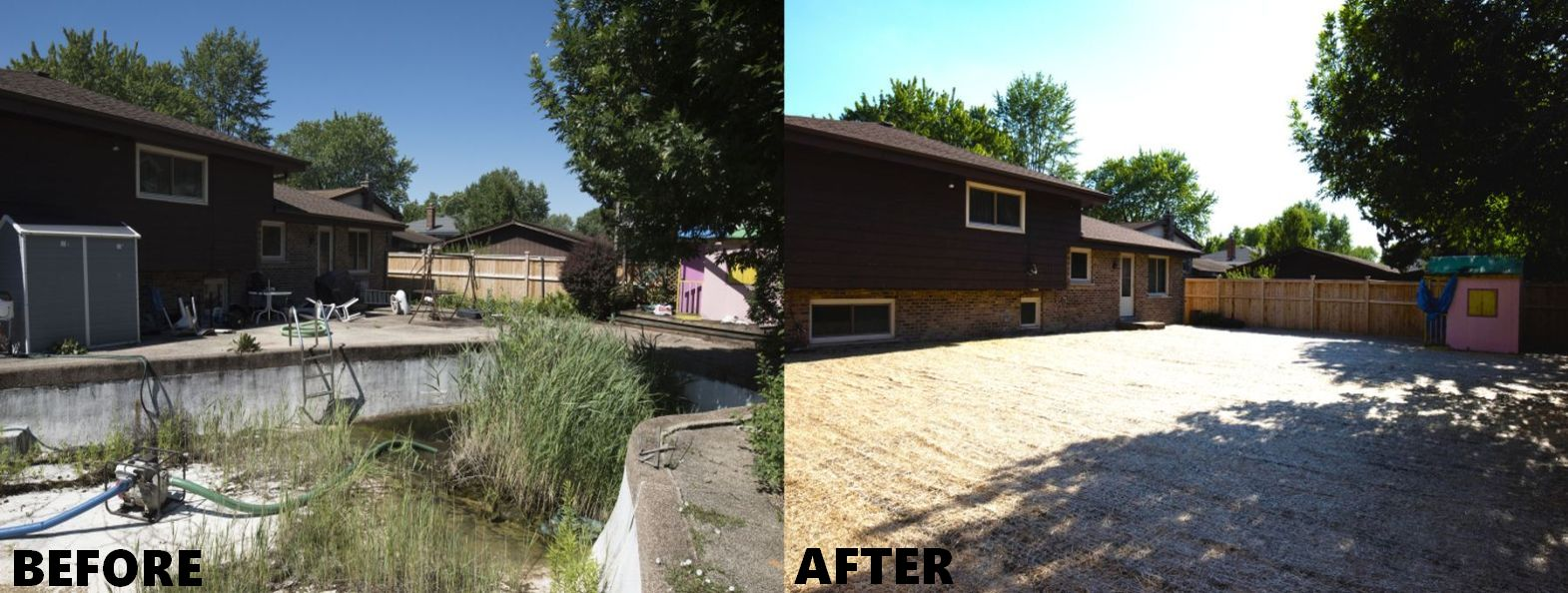 Mack Land LLC - Addison Pool Removal