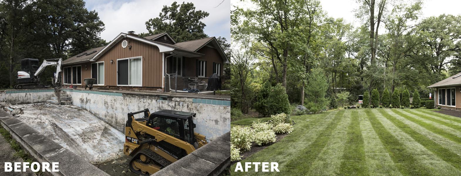 Mack Land LLC - Libertyville, IL Concrete Pool Removal