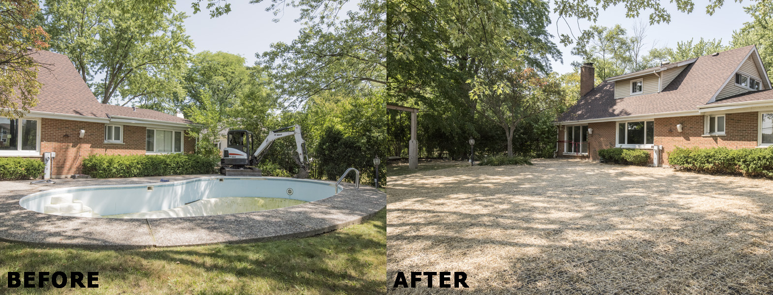 Mack Land LLC - Northbrook, IL Pool Removal