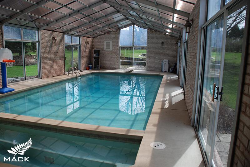 Mack Land LLC - Barrington, IL Indoor Pool Removal