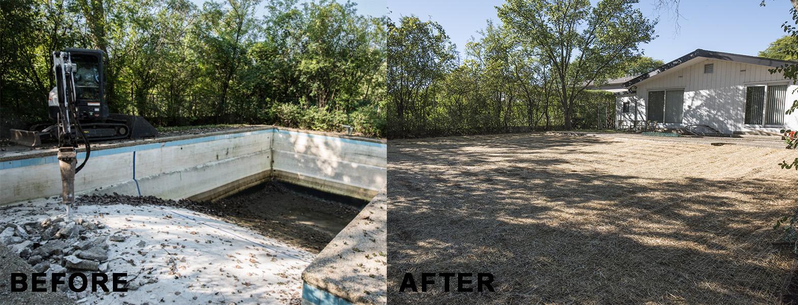 Mack Land LLC - Highland Park, IL Pool Removal