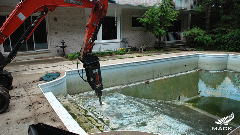 Mack Land LLC - Lake Forest, IL Pool Removal
