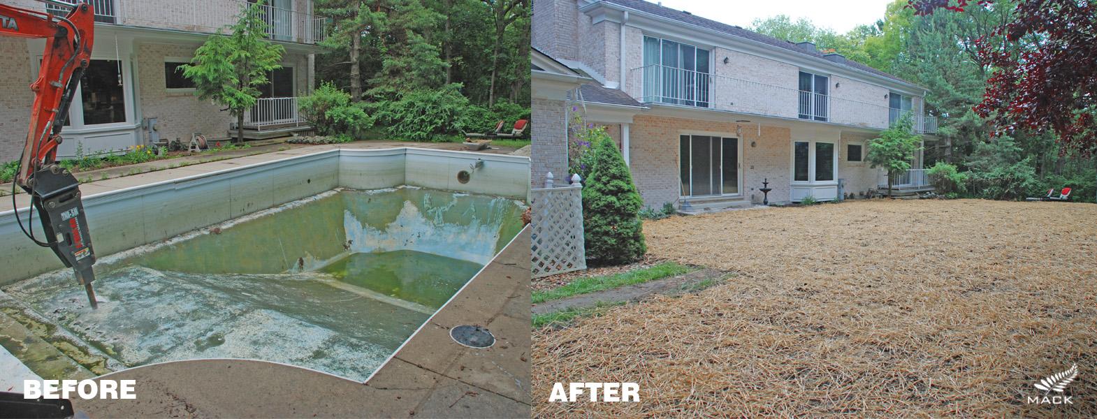 Mack Land LLC - Lake Forest, IL Pool Removal