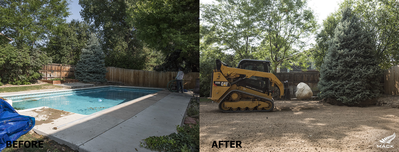 Mack Land LLC - Littleton, CO Pool Removal
