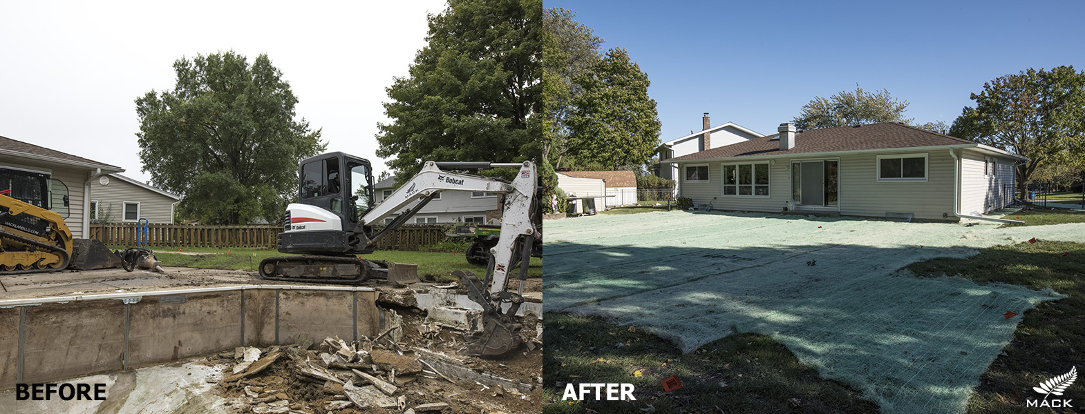 Mack Land LLC - Schaumburg, IL Pool Removal