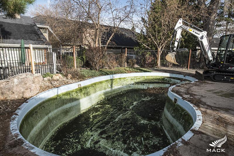 Mack Land LLC - Centennial, Colorado Pool Removal