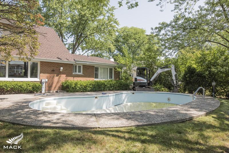 Mack Land LLC - Northbrook, IL Pool Removal