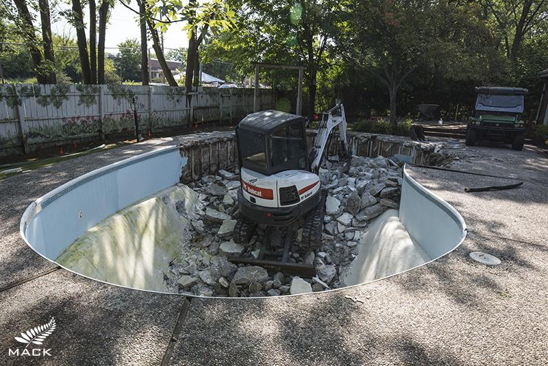 Mack Land LLC - Chicagoland Pool Removals