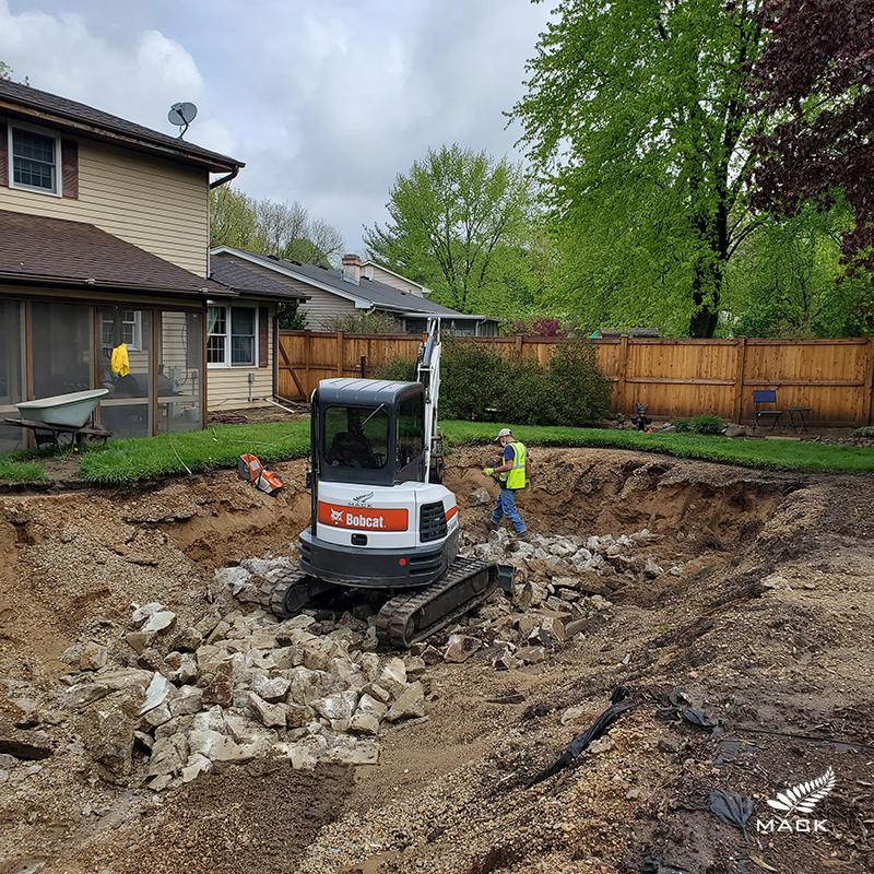 Mack Land LLC - Batavia, Illinois Pool Removal
