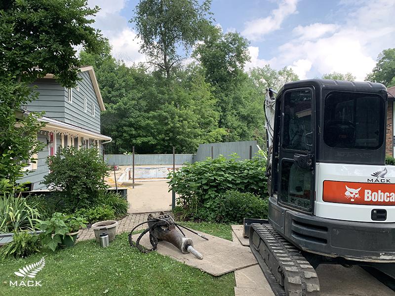 Mack Land LLC - Lake Geneva, Wisconsin Pool Removal