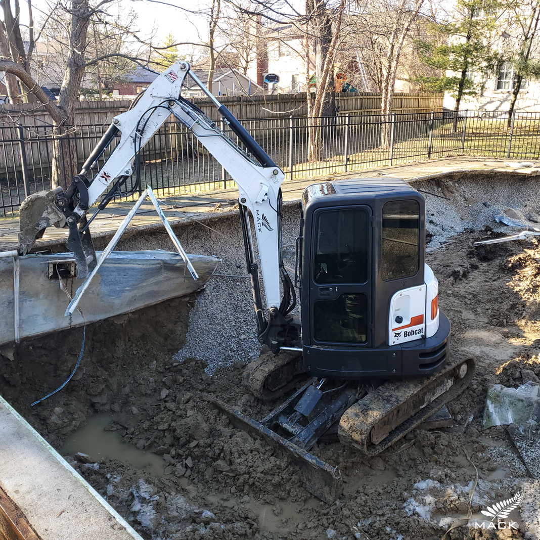 Mack Land LLC - How Much Does it Cost to Remove a Swimming Pool
